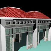 Screen Pavilion Building Design