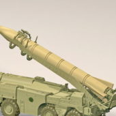 Military Russian Scud Missile Weapon