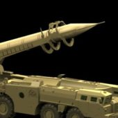Military Scud Tactical Ballistic Missile