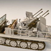 Sdkfz Artillery Vehicle