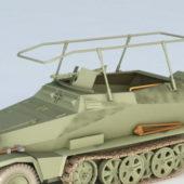Sd.kfz. 250 Light Armored Halftrack