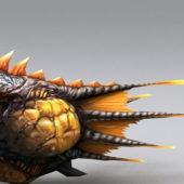 Sea Monster Fish Animal