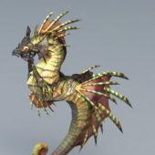 Seahorse Mount Fantasy Animal
