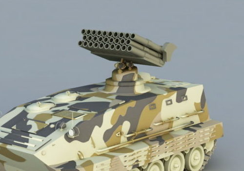 Self-propelled Weapon Anti-air Missile