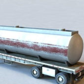 Semi Trailer Tank Trailer Vehicle