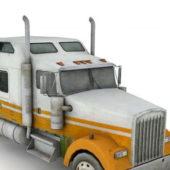 Semi Truck Vehicle Tractor Unit