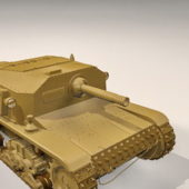 Semovente Tank Self Propelled Gun