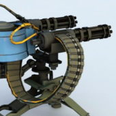 Military Weapon Sentry Turret