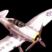Seversky P-35 Military Fighter Aircraft