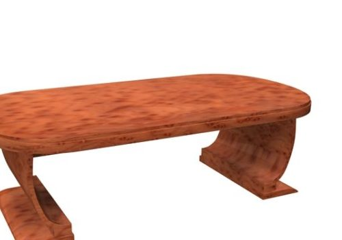Wooden Shaker Hill Table