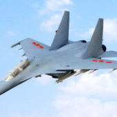 Chinese Shenyang J11 Air Fighter