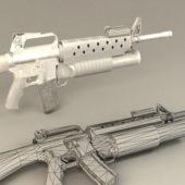 Barrel Carbine Gun