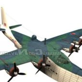 Military Flying Boat Bomber