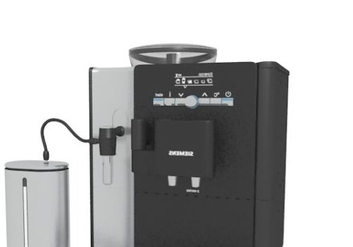 Kitchen Siemens Black Coffee Machine