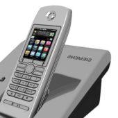 Siemens Vintage Cordless Phone