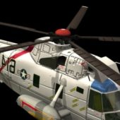 Sikorsky Sh-3 Helicopter