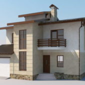 Western Simple Modern House