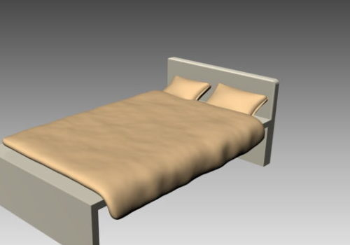 Simple Double Bed Minimalist