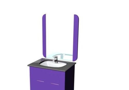 Furniture Single Vanity Cabinet