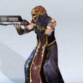 Character Skeleton Shooter