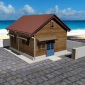 Beach Cabin House