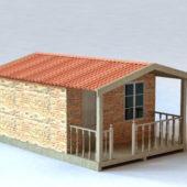 Western Small Cabin House Design