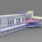 Hotel Exterior Building Design