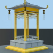 Chinese Small Pagoda Pavilion