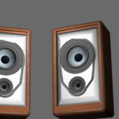 Small Wooden Bookshelf Speakers
