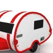 Camper Trailer Vehicle