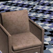 Small Home Furniture Fabric Club Chair