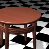 Small Round Furniture Coffee Table