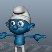 Smurfs Cartoon Character