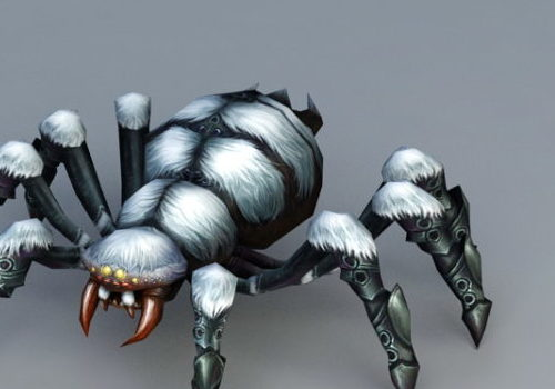 Snow Spider Game Animal