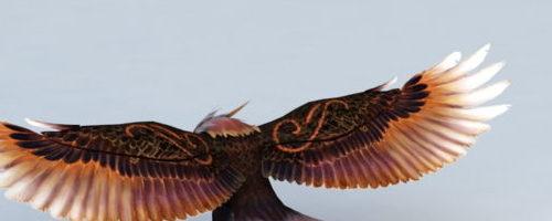 Soaring Eagle Cartoon Character