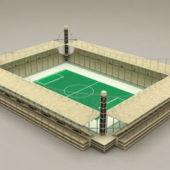 Soccer Stadium Architecture Building