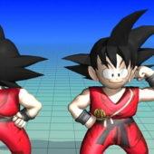 Cartoon Character Son Goku