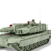 Military Tank South Korean
