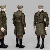 Soviet Soldier Character