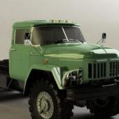 Soviet Zil-131 Military Truck