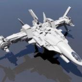 Sci-fi Space Fighter