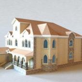 Spanish City House Buildings