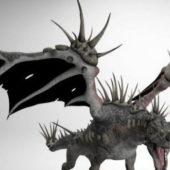 Western Spiky Dragon Animal