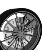 Car Spoke Car Wheel