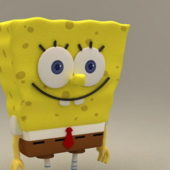Spongebob Squarepants Cartoon Character