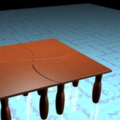 Furniture Square Modular Coffee Tables