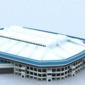 Sport Stadium With Roof