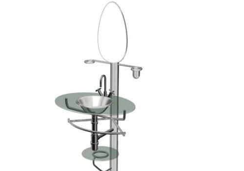 Furniture Stainless Steel Bathroom Vanity Rack