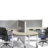 Furniture Stainless Steel Office Workstation