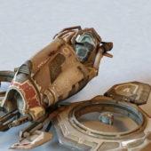 Star Wars Sci-fi Pod Racer Vehicle